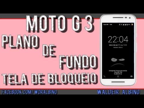 Imagens de papel de parede - Papel de Parede na Tela de Bloqueio Moto G 3