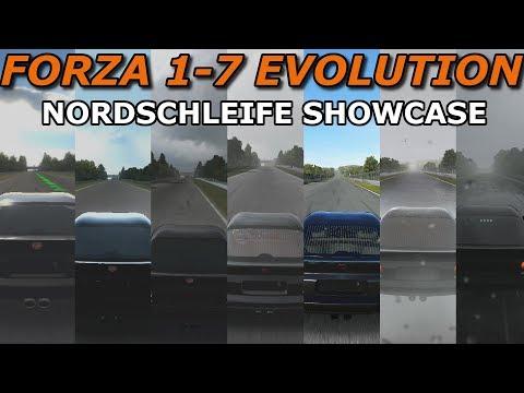 FORZA MOTORSPORT 1-7 IN ONE LAP | NORDSCHLEIFE EVOLUTION