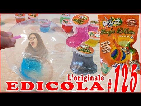 EDICOLA #125: Orbiiz Magic SLIME (by Giulia Guerra) (видео)