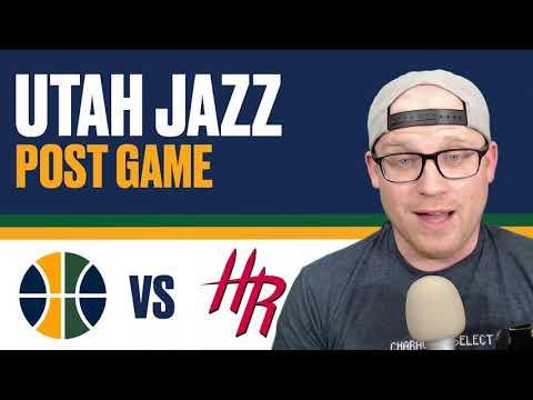 Utah Jazz vs Houston Rockets: Game 1 Reaction Rockets win by 32!