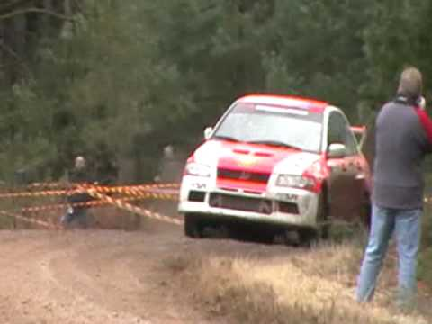 Rallye sunseeker 2010 ss10