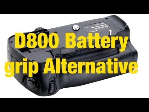 D800 Battery Grip - Vello BG-N7
