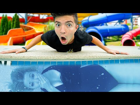 Extreme WATER PARK Hide and Seek!