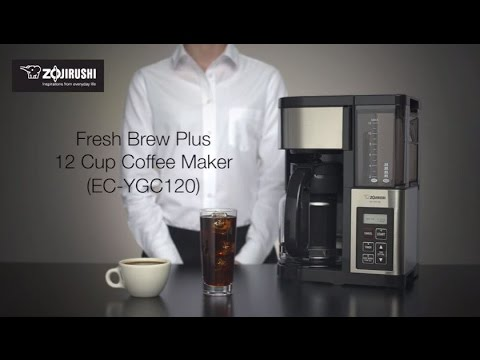 Zojirushi Fresh Brew Plus 12-Cup Coffee Maker EC-YGC120