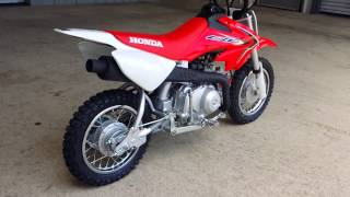 7. 2016 Honda CRF50F Dirt Bike | Walk Around Video - Kids Dirtbike / Pit Bike