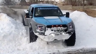 Ford Megaraptor 2017 (Snow Monster)