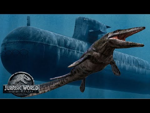 how does the mosasaurus escape? | jurassic world: fallen