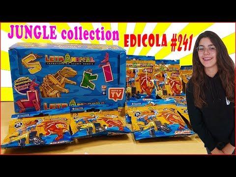 LETRANIMAL Collezione GIUNGLA Lettere che si trasformano in animali (Edicola by Giulia Guerra) (видео)
