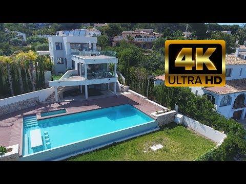 2.375.000€ Новая элитная вилла на 1 линии моря в Испании у пляжа с панорамным видом (Hi-Tech/Хайтек)
