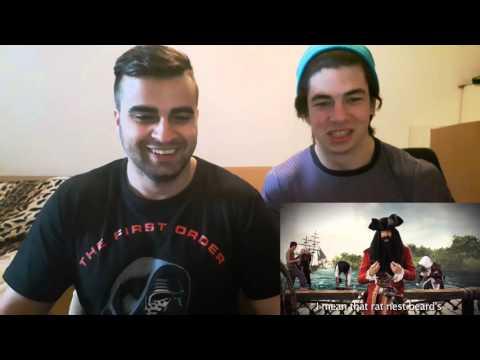 Blackbeard vs Al Capone. Epic Rap Battles of History Season 3 REACTION!