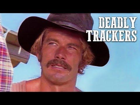 Deadly Trackers | FREE WESTERN MOVIE | Full Length Cowboy Film | Spaghetti Western | Free Movie