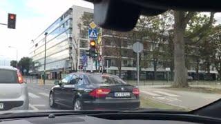 Limuzyna Kaczyńskiego jeździ 160km/h po Warszawie!