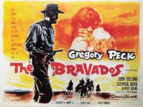 gratis download video - THE-BRAVADOS--Main-Title-The-Hunters