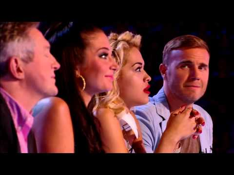 Rylan Clark's audition - The X Factor UK 2012