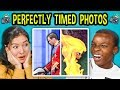 foto 10 PERFECTLY TIMED PHOTOS w/ Teens #2 (React)