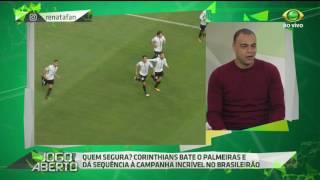O comentarista Denílson critica a atuação do centroavante colombiano na derrota do Verdão por 2 a o diante do rival Corinthians.