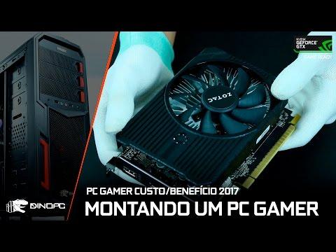 Montando um PC Gamer Custo/Benefício para 2017   GEFORCE GTX1050 2GB