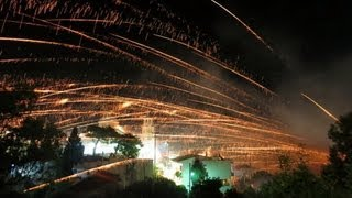 Chios Greece  city photos : Easter Rockets on Chios island, Greece