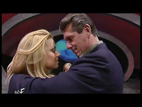 Trish stratus KISSES Mr McMahon!Gone wild!!
