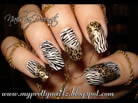 Search Results For Nice Party Animal Leopard Cheetah Nail Art Design