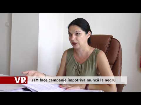 ITM face campanie împotriva muncii la negru