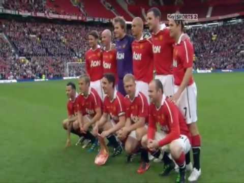 testimonial - Some Of Beckham's Best Bits From Gary Neville's Manchester United Testimonial 24th May 2011.