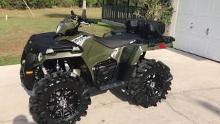 9. 2017 Polaris Sportsman 450ho