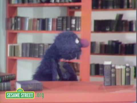 Sesame Street: Grover In The Library