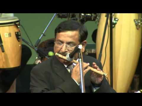 Video Muktesh Chander playing Rut Hai Milan Ki Sathi Mere Aa Re on Flute download in MP3, 3GP, MP4, WEBM, AVI, FLV January 2017