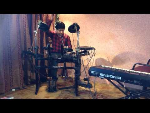 Video Aaj Mein Upar Aasman Neeche Drum cover download in MP3, 3GP, MP4, WEBM, AVI, FLV January 2017