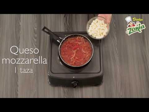 Conchitas Napolitanas con Tocineta | PASTAS ZONIA