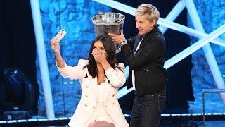 Kim Takes the Ice Bucket Challenge - YouTube