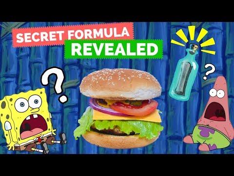 HOW TO MAKE A KRABBY PATTY! (Spongebob Squarepants) - La Cooquette Food