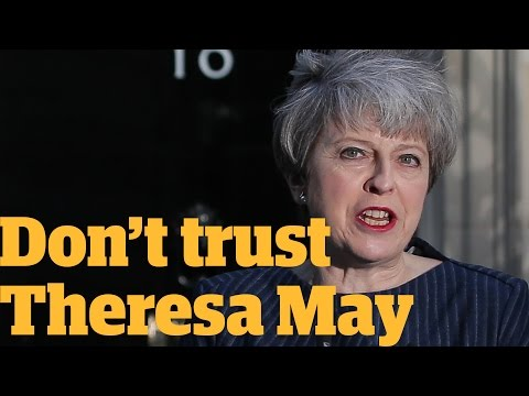 You can't trust Theresa May in the general election   Owen Jones talks...