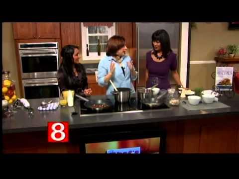 Yankee Magazine in the kitchen