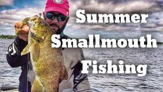 Video How to Find Fish - Finding Smallmouth Bass in the Summer MP3, 3GP, MP4, WEBM, AVI, FLV Agustus 2018