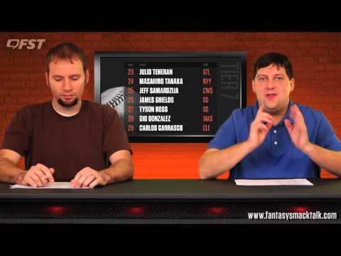 2015 Fantasy Baseball Starting Pitcher Rankings thumbnail