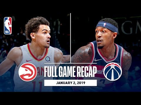Video: Full Game Recap: Hawks vs Wizards | Beal Scores 24 Points