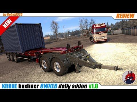 Krone boxliner (owned) dolly addon v1.0