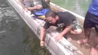 air kolam lele abah Nasrudin