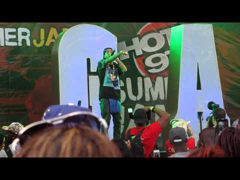 Rack City at Hot 97 Summerjam 2012