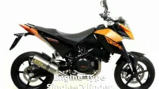 3. 2008 KTM Duke 690 - Walkaround, Info