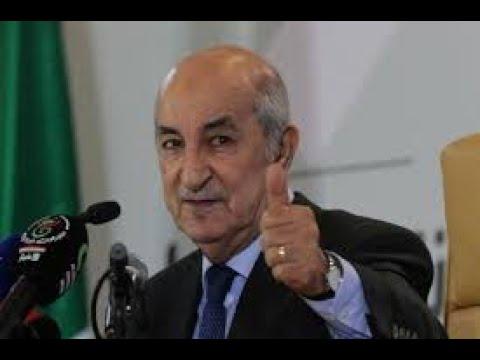 """رئيس الجمهورية يطمئن الجزائريين """"أنا بخير وعافية"""""""