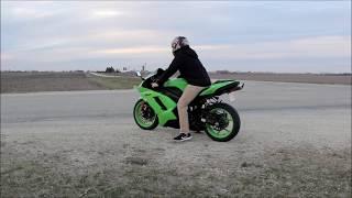 3. 2008 Kawasaki Ninja ZX6R Full Throttle Review