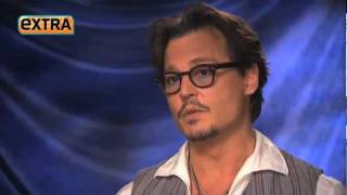 Johnny  Depp  - Interview  ( Extra )