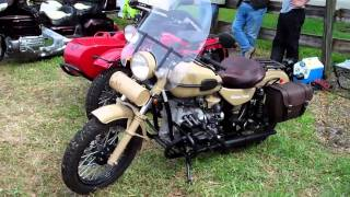 10. Urals at Daytona Bike Week 2011 Sidecar Day Show