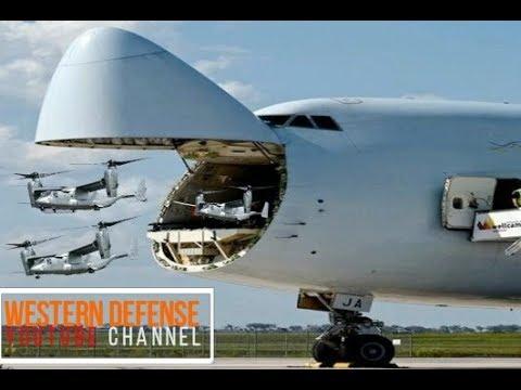 The Gigantic C-5 Galaxy Cargo Aircraft...