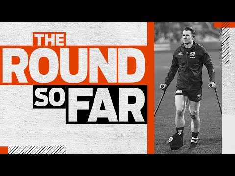 'He Has To Get It Out Of His Game' | The Round So Far | Round 9, 2019 | AFL