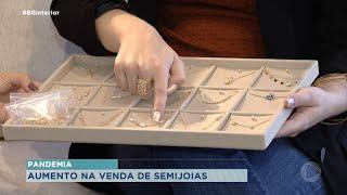Nosso Povo se Reinventa: Empresária do ramo de Semijoias aumentou as vendas na pandemia
