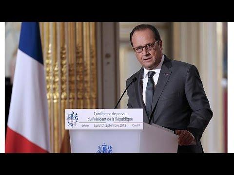 Φρανσουά Ολάντ: «Άσυλο σε 24.000 πρόσφυγες-προετοιμάζονται επιδρομές κατά των τζιχαντιστών»